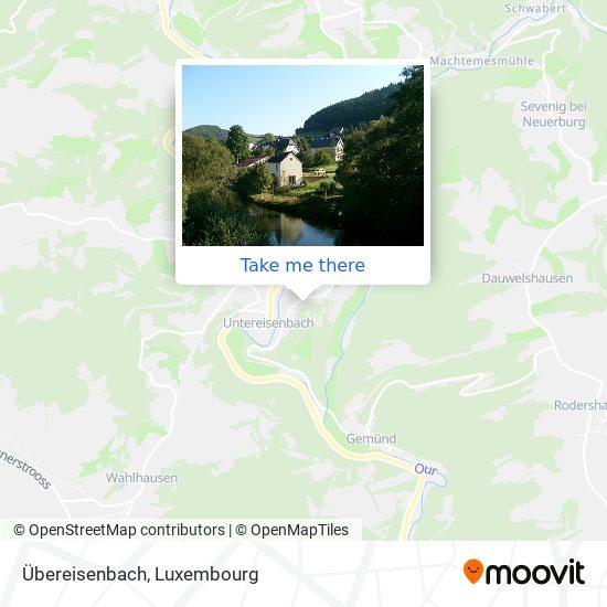 Übereisenbach map
