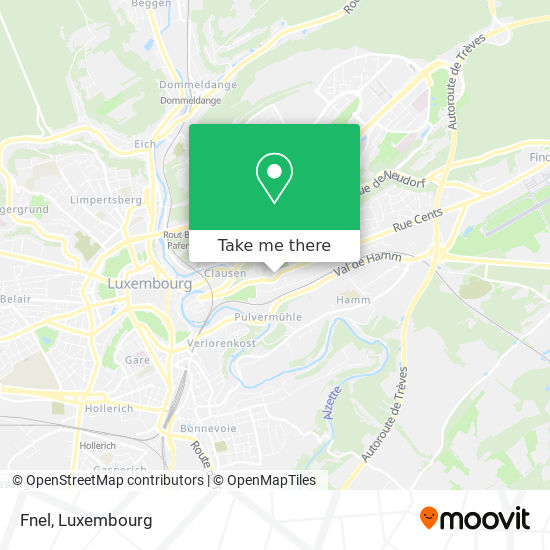 Home Fnel map