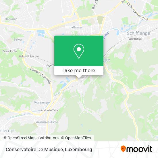 Conservatoire De Musique map