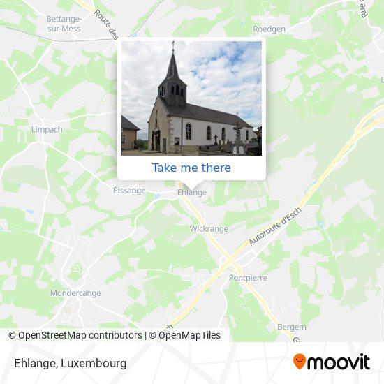 Ehlange-Sur-Mess map