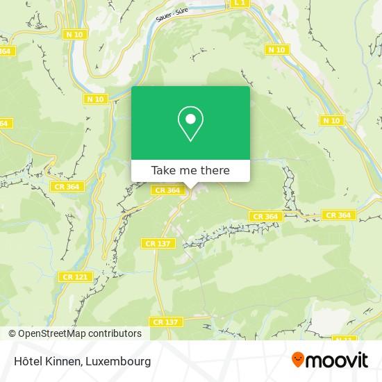 Hôtel Kinnen map