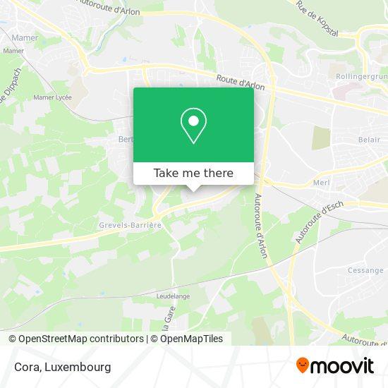 Cora map