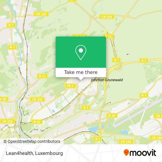 Lean4health map