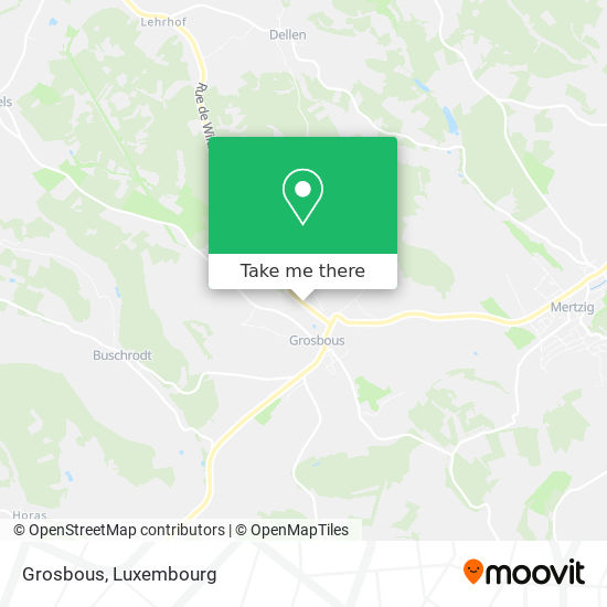 Grosbous map