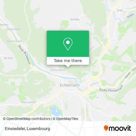 Einsiedelei map