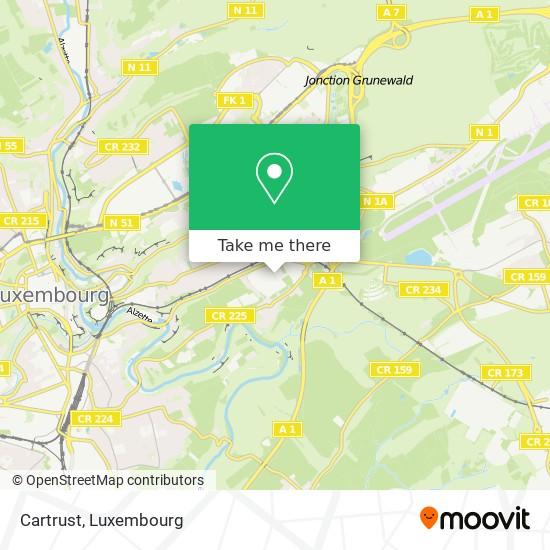 Cartrust map