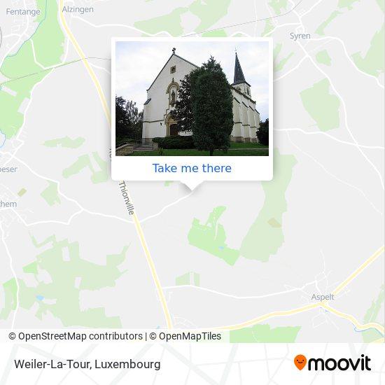 Weiler-La-Tour map