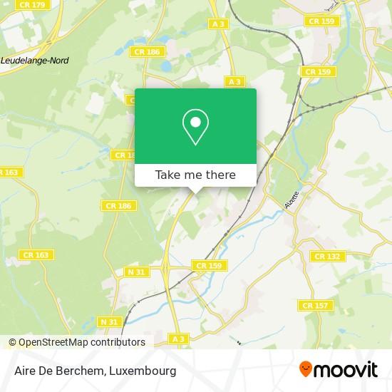 Aire De Berchem map