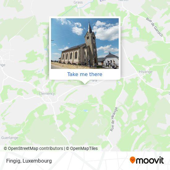 Fingig map