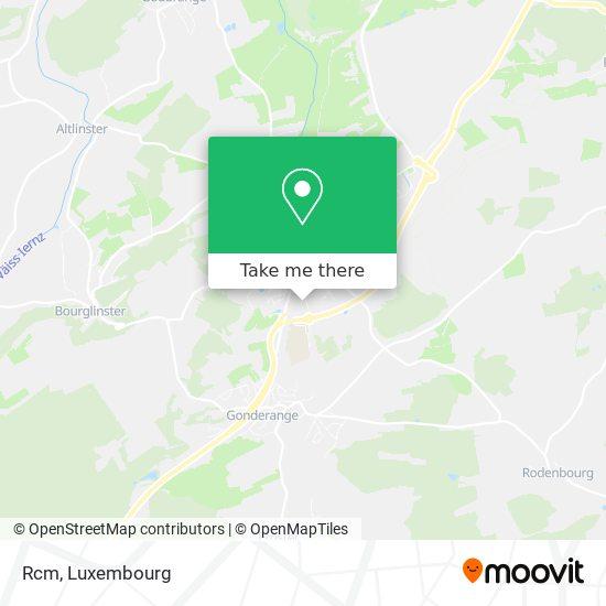 Rcm map