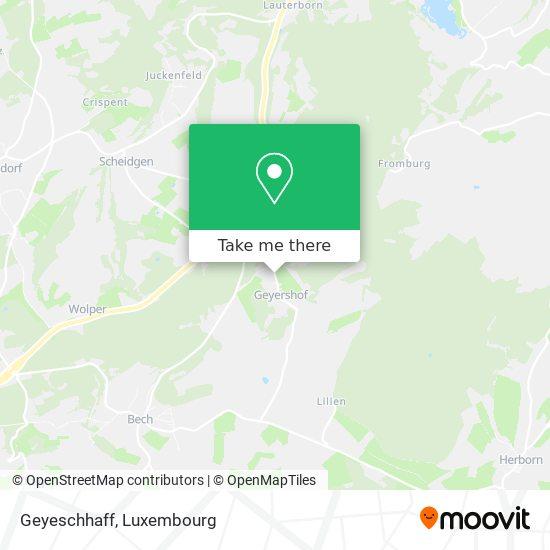 Geyeschhaff map