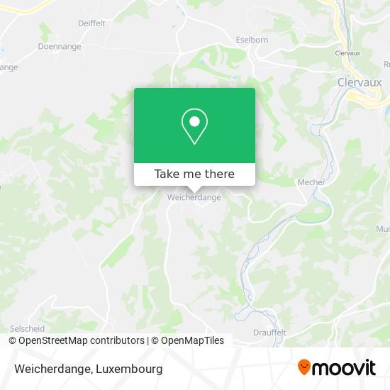 Weicherdange map