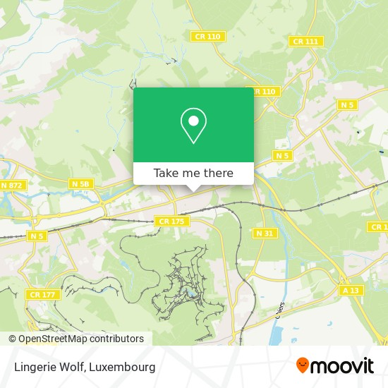 Lingerie Wolf map