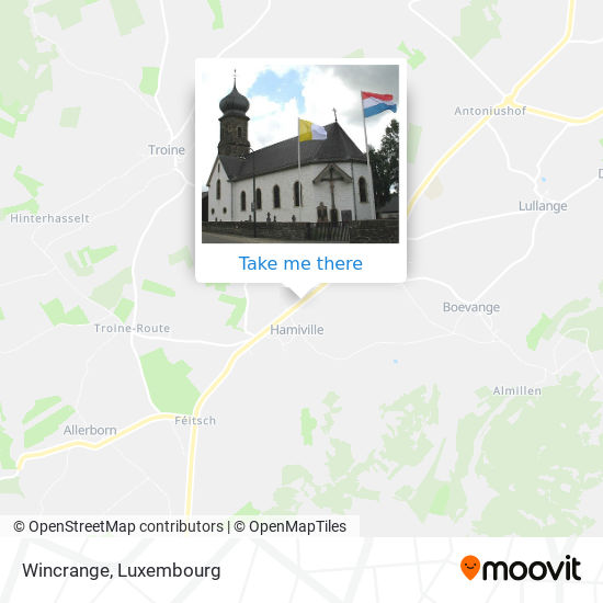 Wincrange map