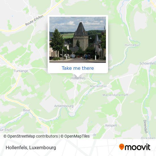 Hollenfels map