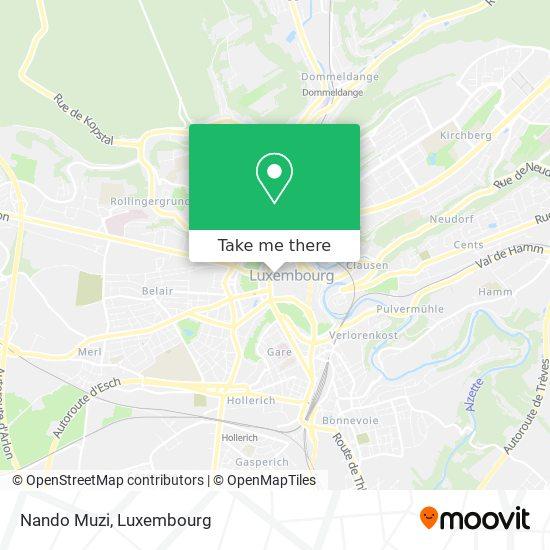Nando Muzi map