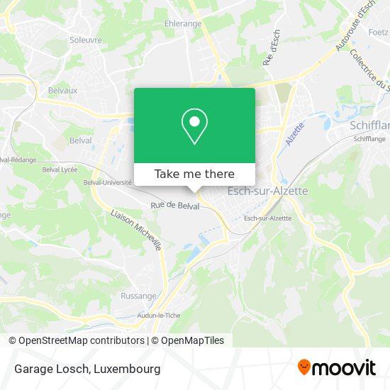 Garage Losch map