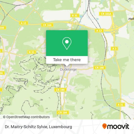 Dr. Maitry-Schiltz Sylvie map