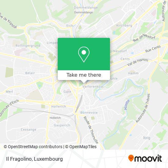 Il Fragolino map