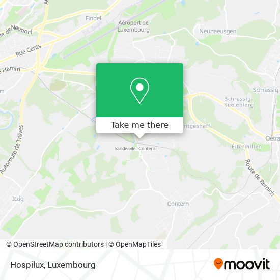 Hospilux map
