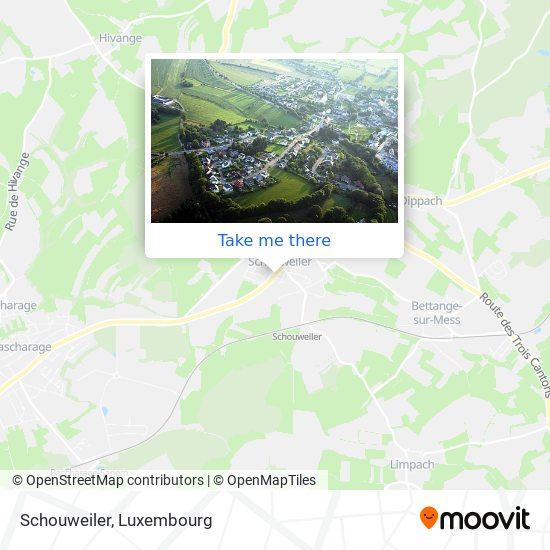 Schouweiler map