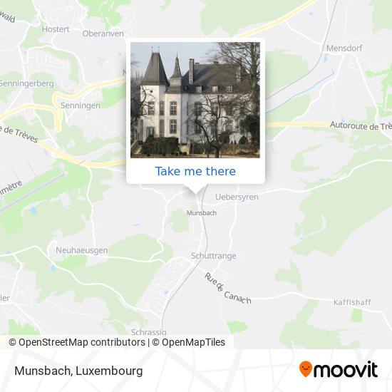Münsbach map