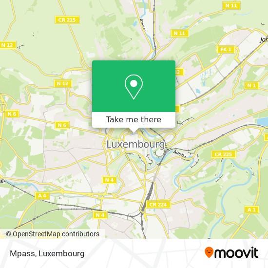 Mpass map
