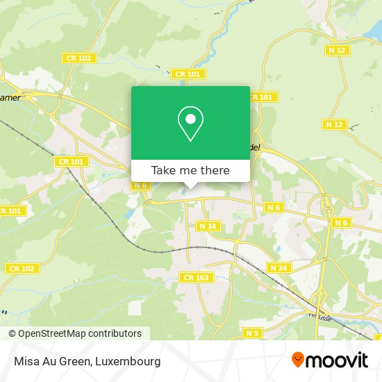 Misa Au Green map