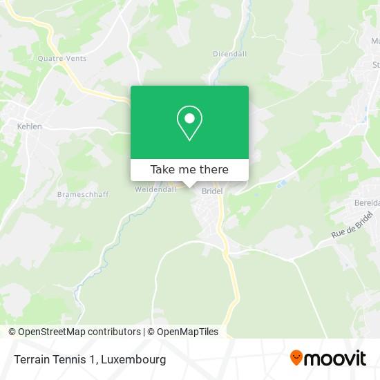 Terrain Tennis 1 Karte