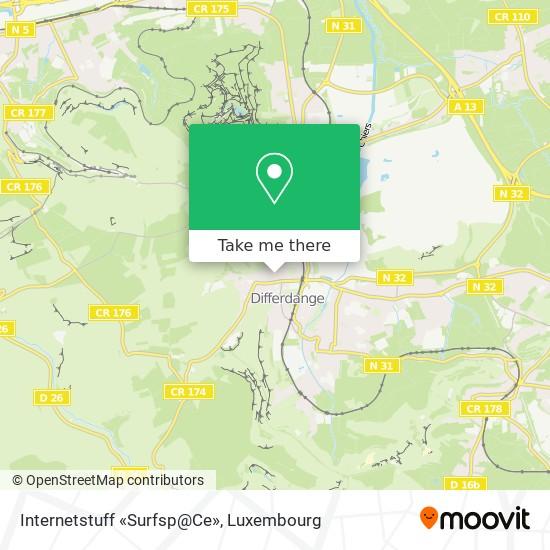 Internetstuff «Surfsp@Ce» map
