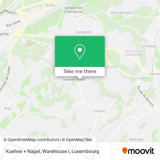 Kuehne + Nagel map