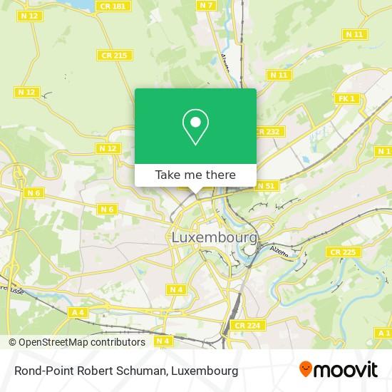 Rond-Point Robert Schuman map