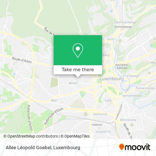 Allée Léopold Goebel map