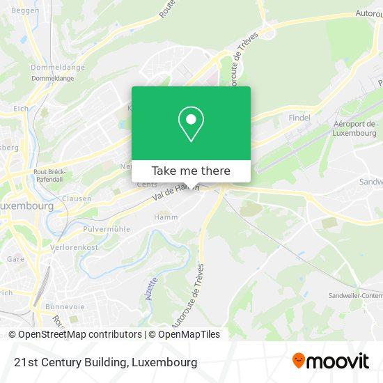 21st Century Building map