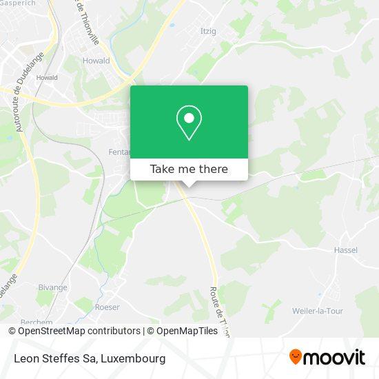 Leon Steffes Sa map