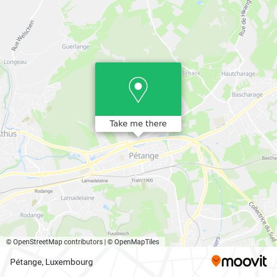 Pétange map