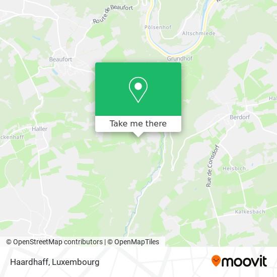 Haardhaff map