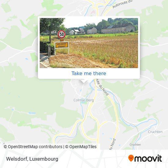 Welsdorf map