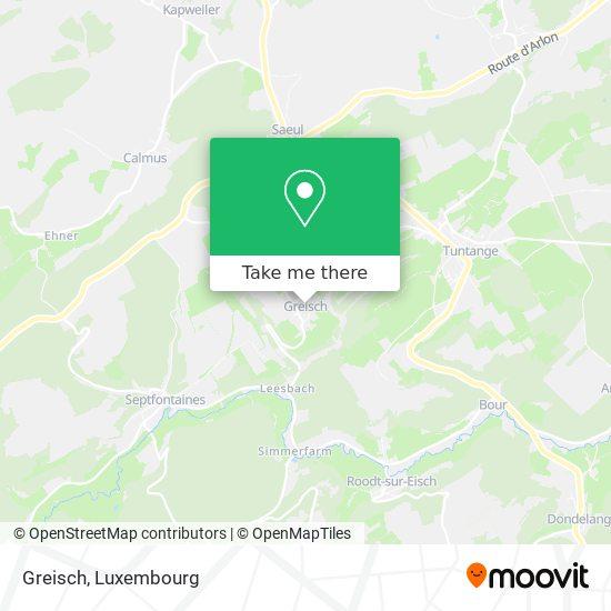 Greisch map