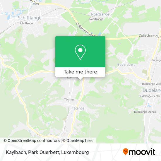 Kaylbach, Park Ouerbett map