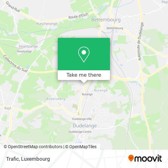 Trafic map