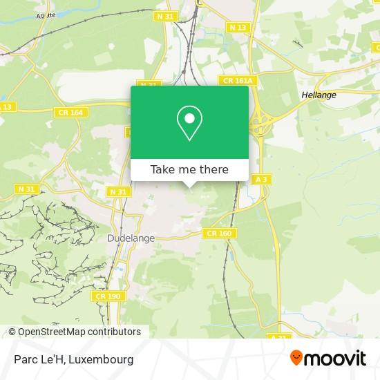 Parc Le'H map
