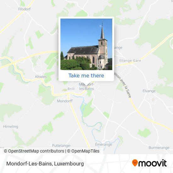 Mondorf-Les-Bains map