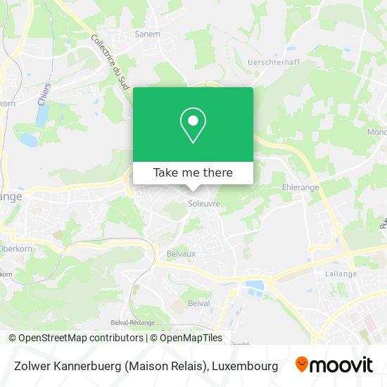 Zolwer Kannerbuerg (Maison Relais) map