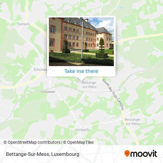 Bettange-Sur-Mess map