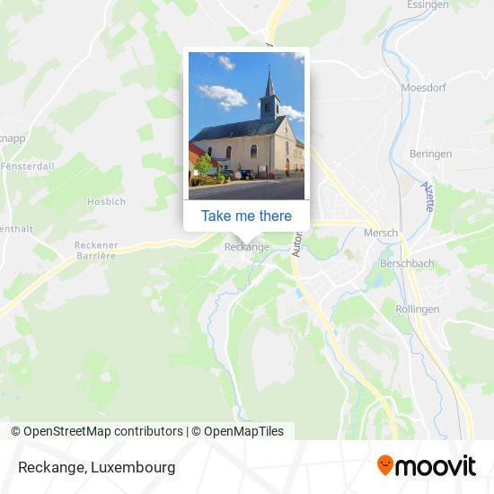 Reckange map
