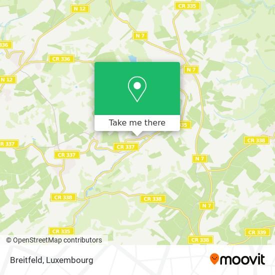 Breitfeld map