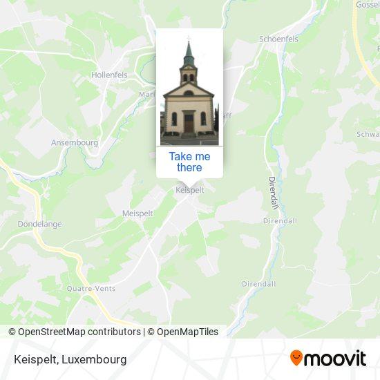 Keispelt map