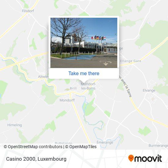 Casino 2000 map