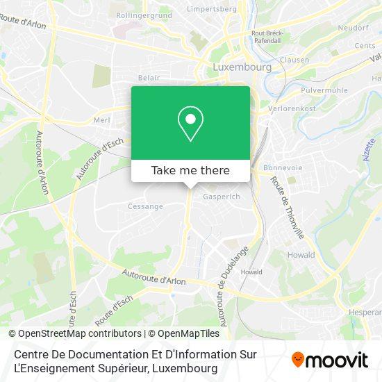 Cedies map